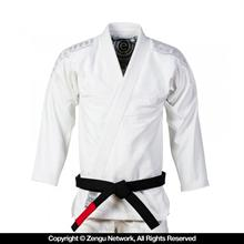 Tatami Estilo 5.0 White-On-White BJJ Gi